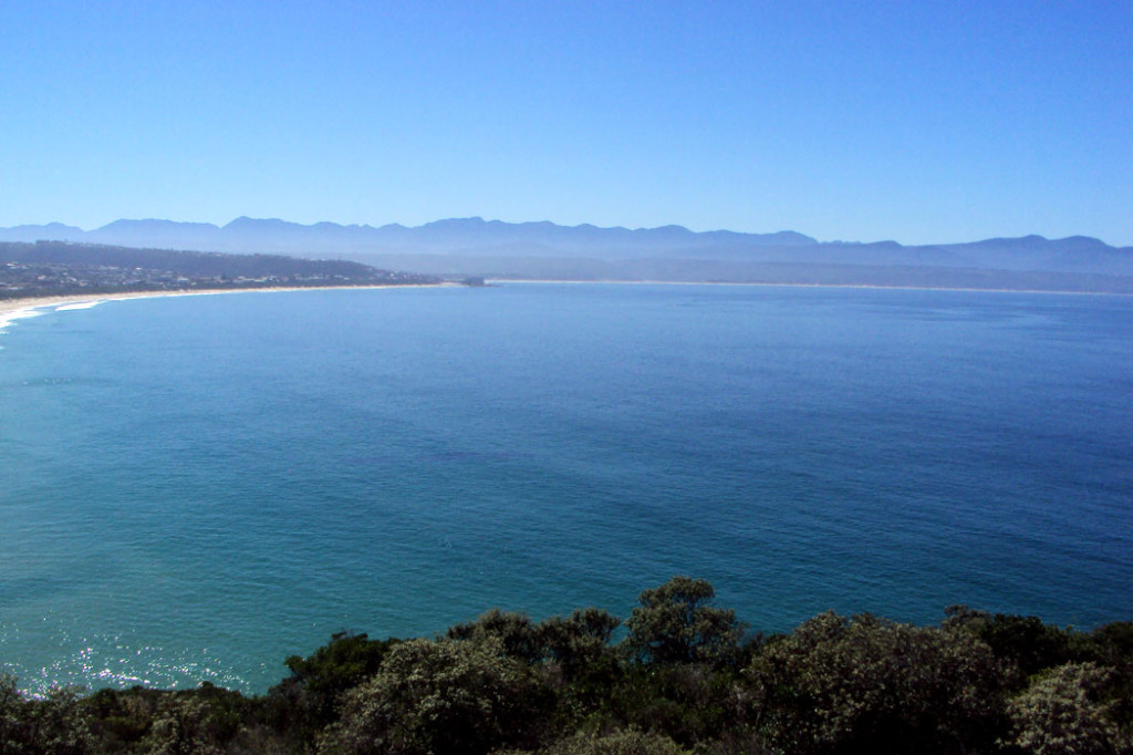 View of Plettenberg Bay